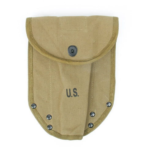 U.S. WWII M1943 Entrenching Tool Shovel Canvas Cover Carrier