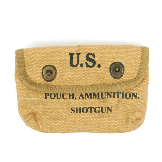 U.S. WWII Khaki Shotgun Shell Pouch New Made Items