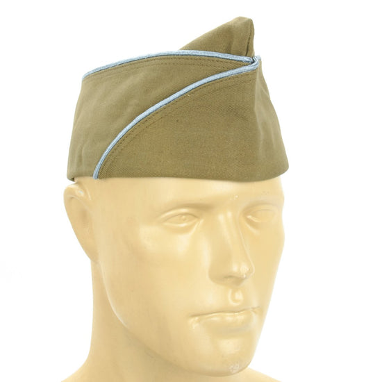 U.S. WWII Garrison Cap PX with Infantry/Paratrooper Blue Piping