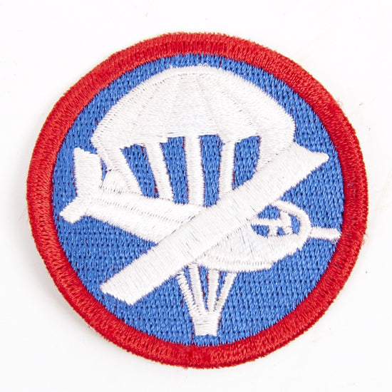 U.S. WWII Garrison Cap Badge Patch- Paratrooper Glider