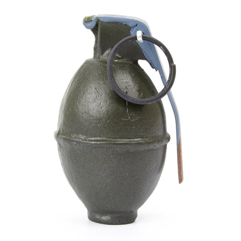 U.S. WWII Resin Dummy Lemon Fragmentation Grenade