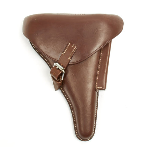 German WWI Mid Brown Luger Holster