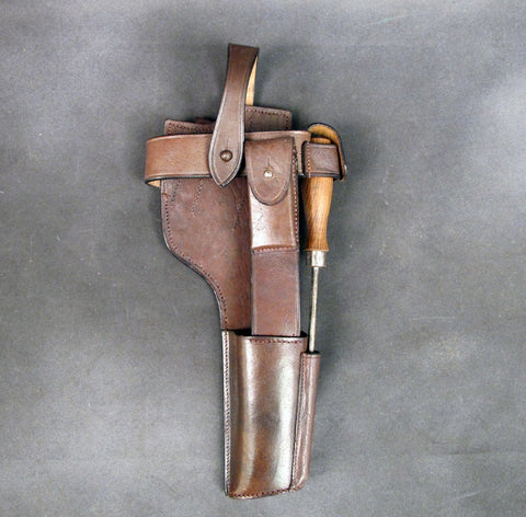 German C-96 Leather Holster Harness
