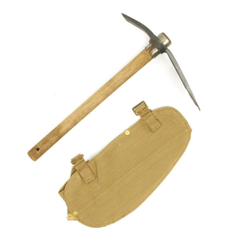 Original British WWII Entrenching Tool Set