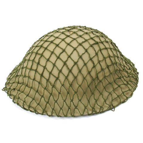 Original British WWII Helmet Net Original Items