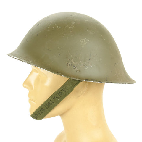 British P-1944 Turtle MkV Steel Helmet Original Items
