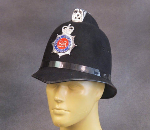 British Bobby Police Comb Pattern Helmet: Greater Manchester