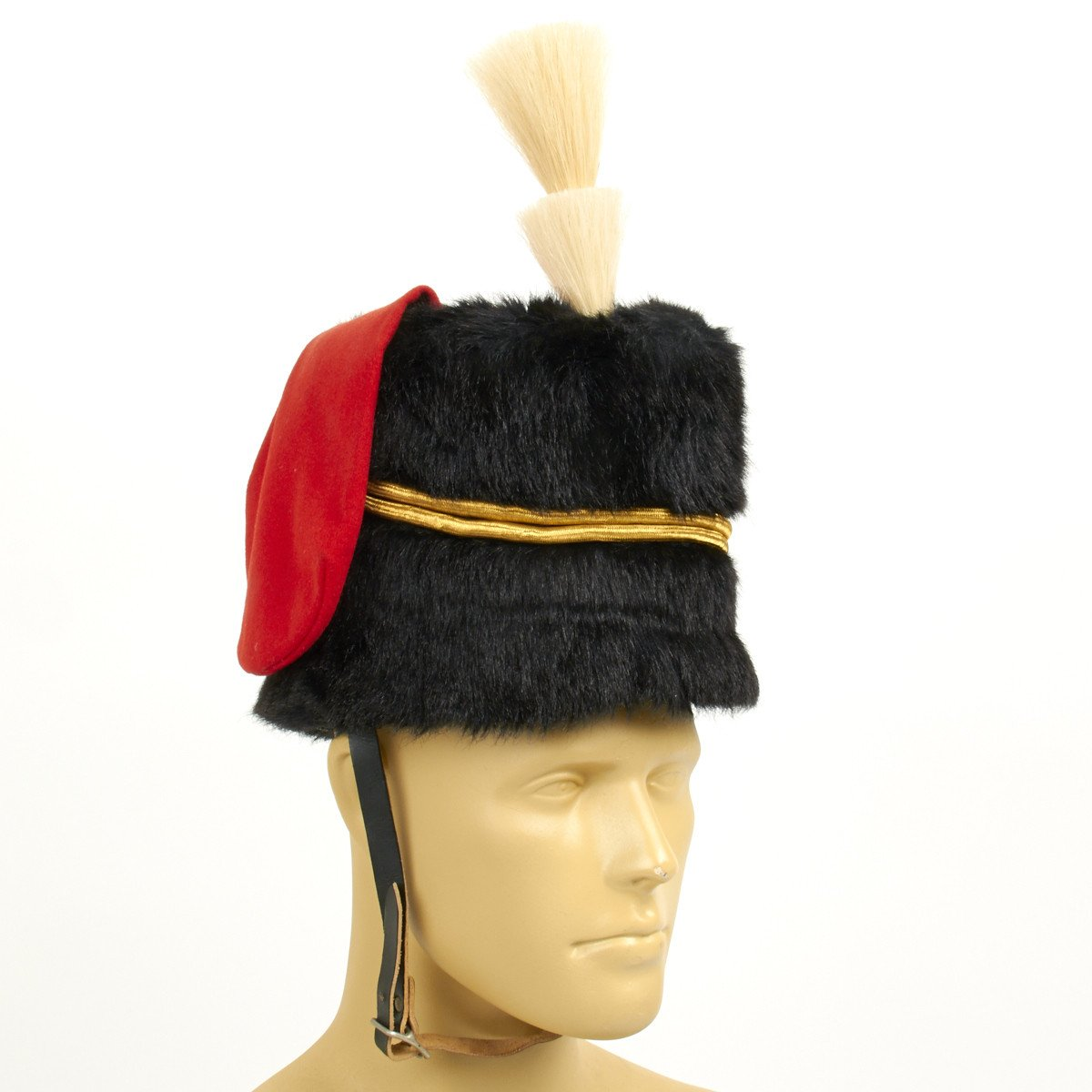 Original British Royal Horse Artillery Bugler Busby Fur