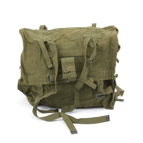 Original British Army P-58 OD Green Haversack Large Back Pack
