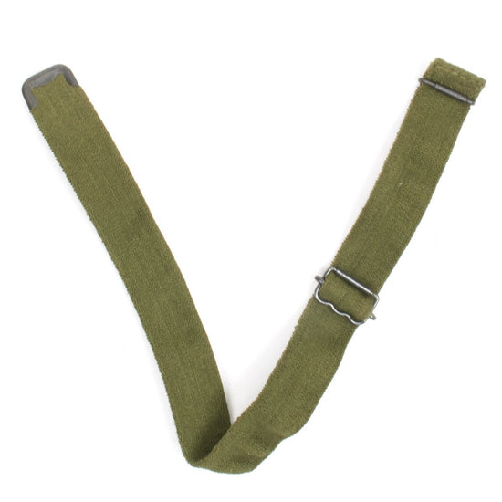 Original British Turtle and Brodie Helmet Elasticized Chin Strap- OD Green