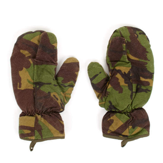 Original British Special Forces Camouflage Sniper Mittens Original Items