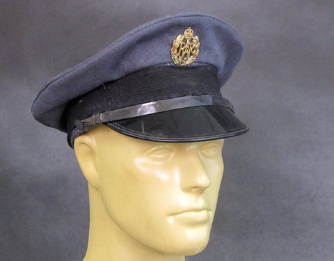 British WWII type R.A.F Other Ranks Visor Hat