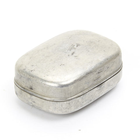 Original WWII Dated British Soap Dish Survival Container