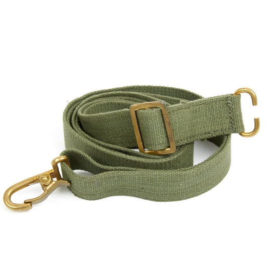 Original British Sterling Submachine Gun Green Web Sling- Dated Original Items