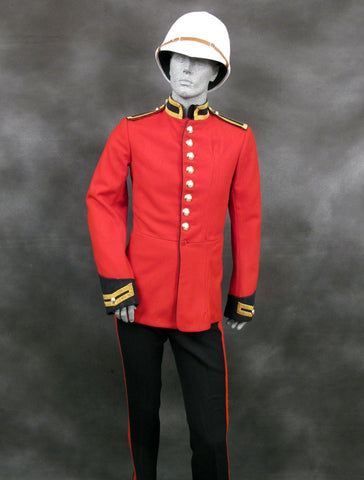 British Household Cavalry Life Guard Red Tunic and Coverall Set