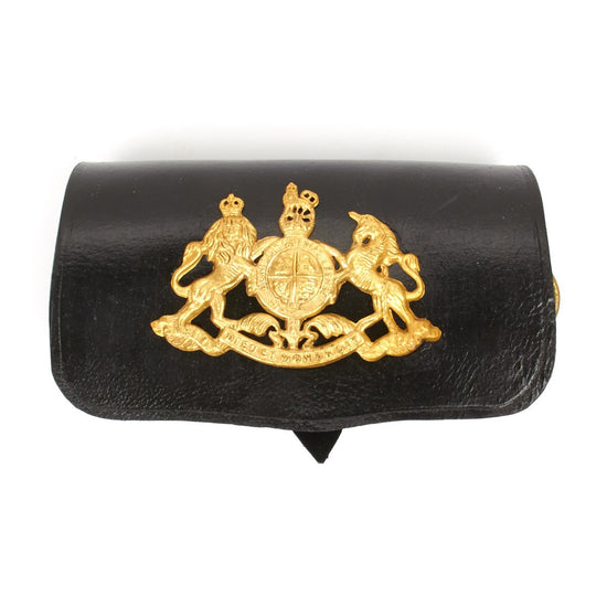 British Royal Life Guard Leather Document Pouch