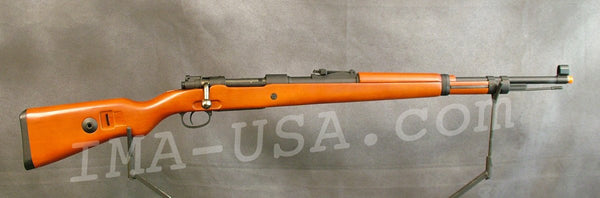 Airsoft D-Boys Mauser K98 Rifle w/ Wood Stock (Spring Powered): German WW2  Rifle