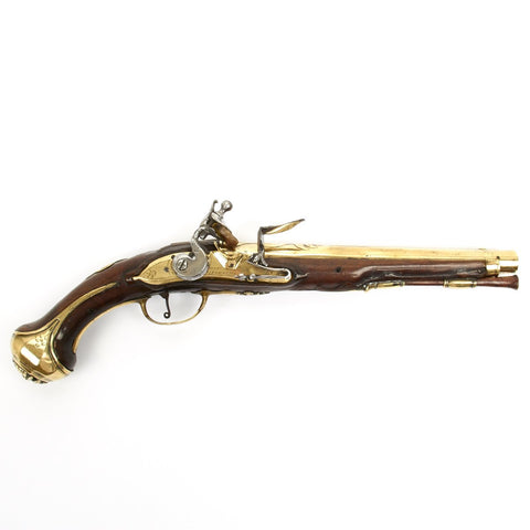 Original Dutch Flintlock Pistol by Cornelius Starbus 1678-1748