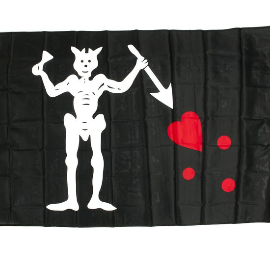 Black Beard The Pirate Flag 3' x 5' New Made Items