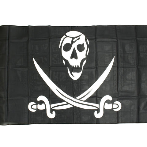 Pirate Calico Jack Jolly Roger Flag 3' x 5'