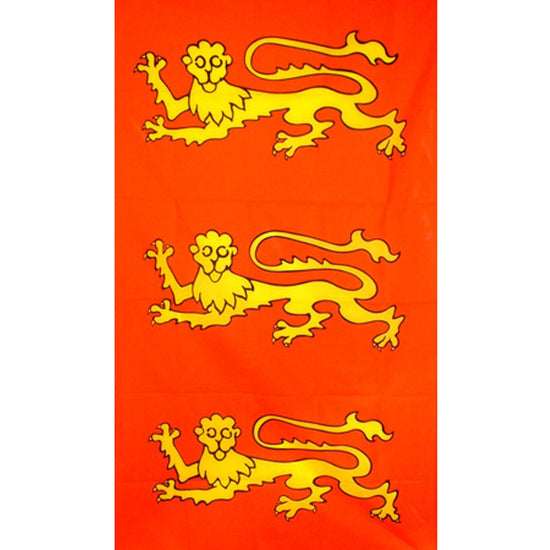 "English King Richard I ""The Lion-Heart"" Flag 2' x 4'"