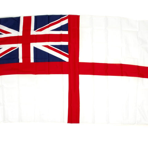 British Naval The White Ensign Flag - St George's Ensign 3' x 5'
