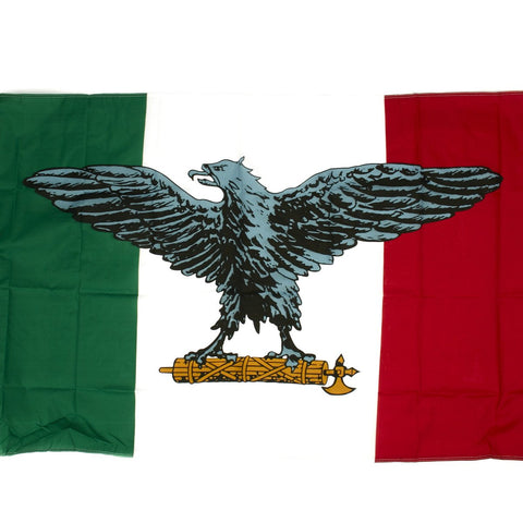 Italian WWII National Republican Army (Italian Socialist Republic) Flag 3' x 5'