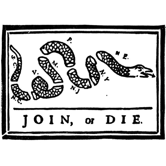 U.S. Join or Die Snake Colonies of the Revolutionary War Flag 3' x 5' New Made Items