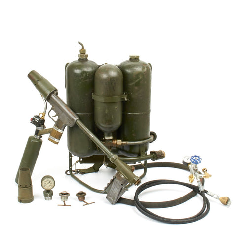 Original U.S. WWII M2-2 Flamethrower Dated 1945