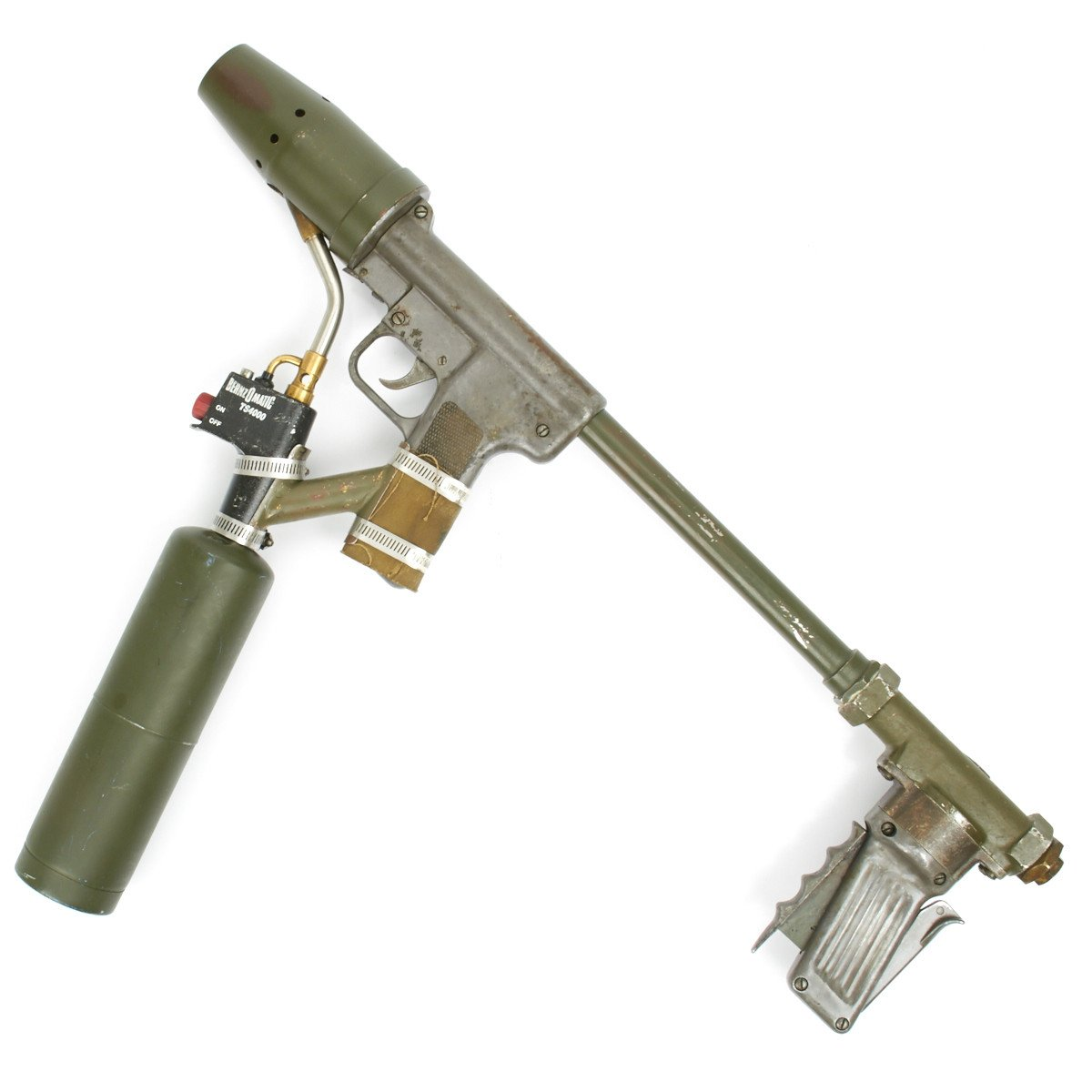 Original U S  WWII M2-2 Flamethrower Dated 1945