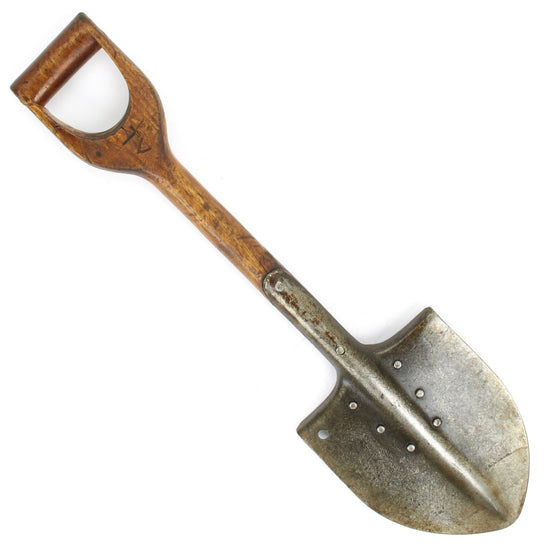 Original Pre-WWII Finnish Infantry Shovel Original Items