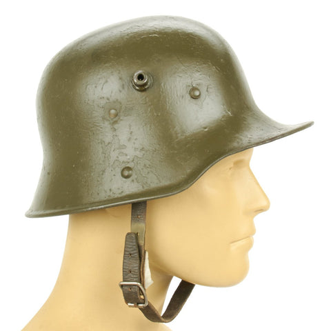 Original Imperial German WWI M16 Stahlhelm Helmet - Shell Size 62 Original Items