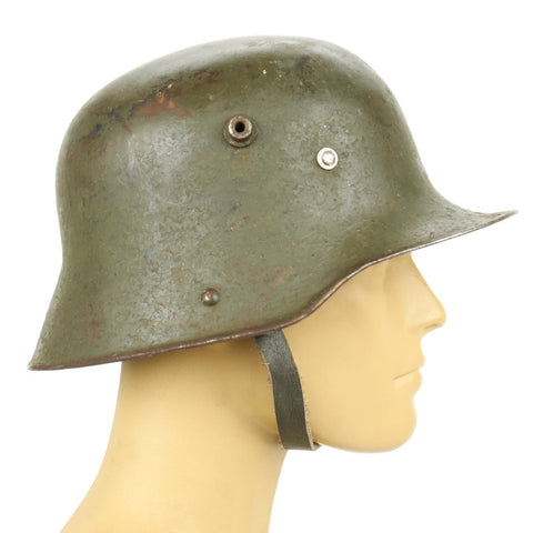 Original Imperial German WWI M16 Stahlhelm Helmet - Shell Size 64
