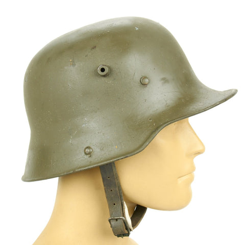 Original Imperial German WWI M16 Stahlhelm Helmet - Shell Size 66