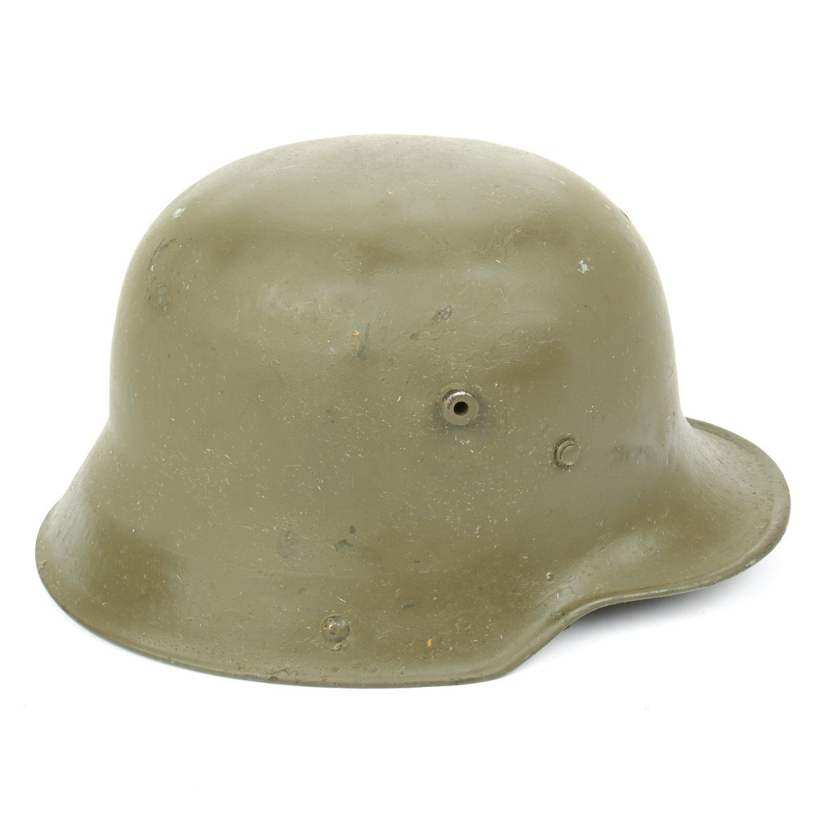 Original Imperial German WWI M16 Stahlhelm Helmet- Shell Size 66
