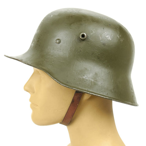 Original Imperial German WWI M18 Stahlhelm Helmet - Shell Size 66