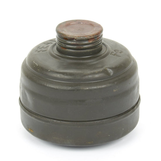 German WWII M-38 Gas Mask Spare Filter Can
