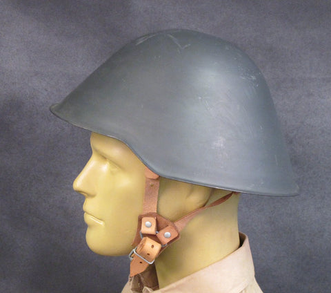 East German VOPO Steel Combat Helmet: Unissued