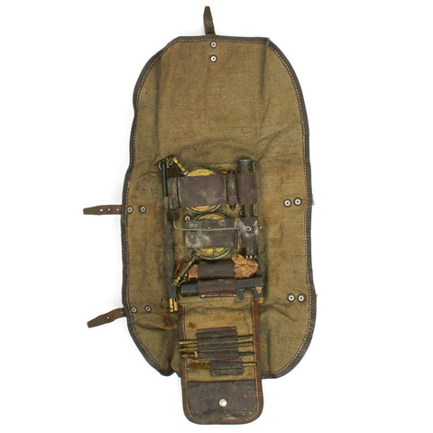 Original WWII Czech ZB Armorer Tool Kit in Canvas Pouch Original Items
