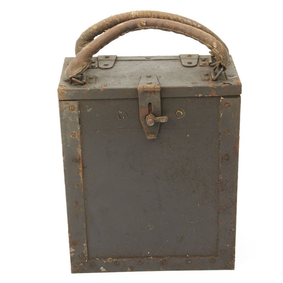 Italian WWII Breda M37 Feed Strips in Carry Case Original Items