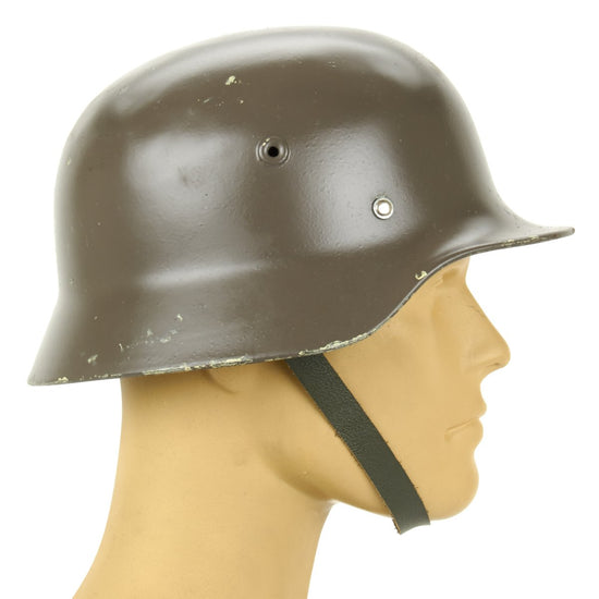Original German M40 WWII Type Steel Helmet- Finnish M40/55 Contract