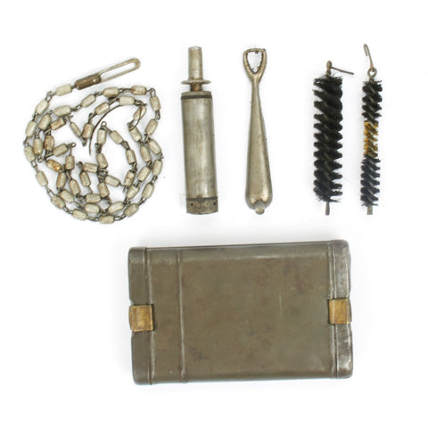 Original German WWII 98k K98k Rifle Cleaning Kit Deluxe- Marked G.Appel Original Items