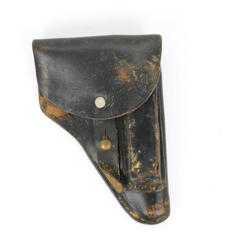 Original German WWII 7.65mm WWII Right Hand Pistol Holster- Fits PPK