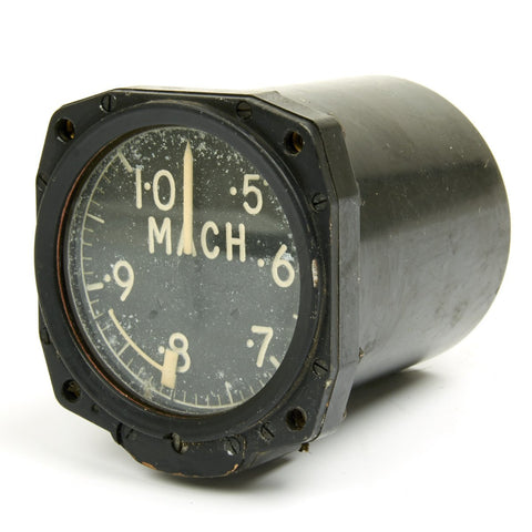 Original British 1950s Hawker Hunter Fighter Jet Mach Gauge