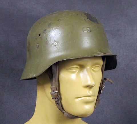 German M-42 Style Steel Helmet from Spain