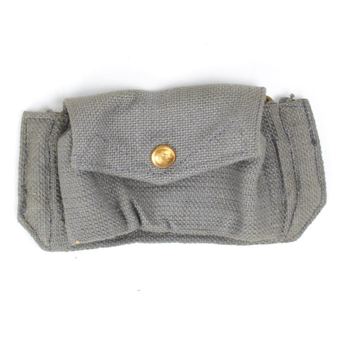 Original WWII British Royal Air Force R.A.F Grey/Blue Ammo Pouch