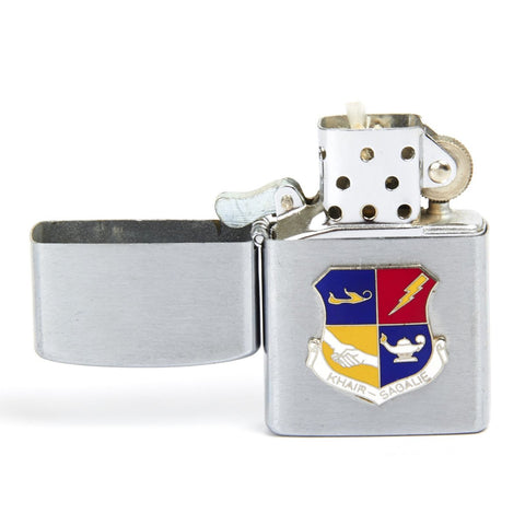 Original 1965 U.S. Cold War Era Zippo Style Lighter CIA 6937th Communications Group Peshawar Air Station Pakistan- By Universe