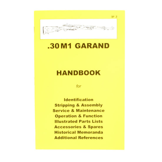Handbook: U.S. .30 M1 Garand New Made Items