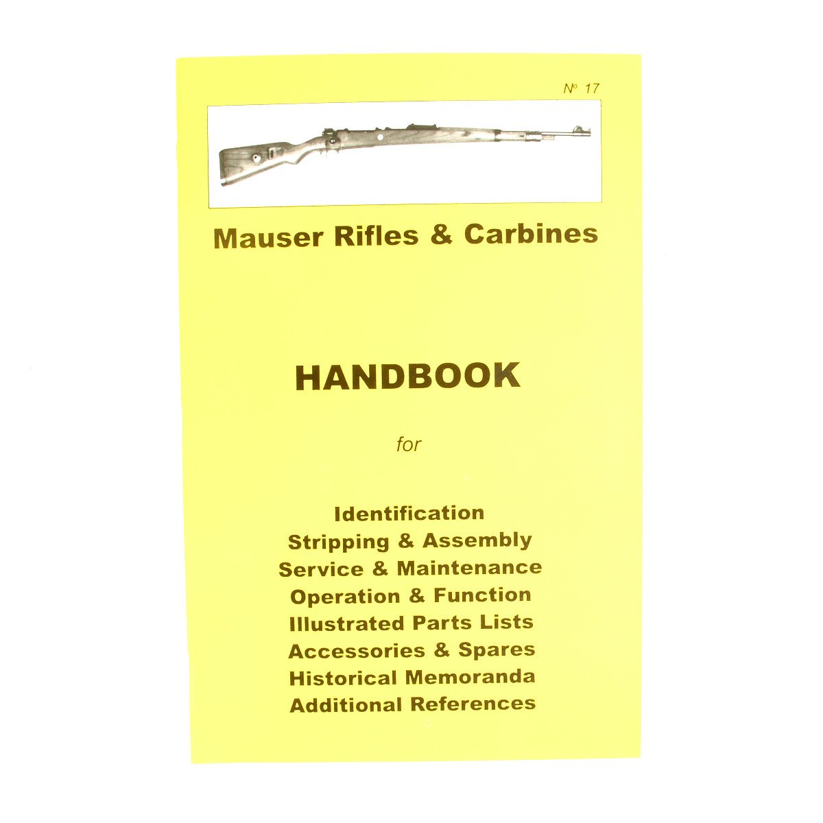 Handbook: Mauser Rifles and Carbines – International Military Antiques