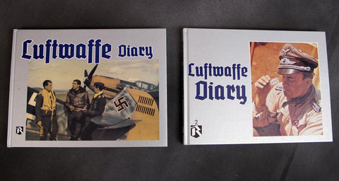 Book: Luftwaffe Diary Set- Volumes 1 & 2